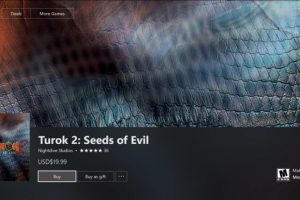 Turok 2 was just rated in Australia for Xbox One, Australian release incoming