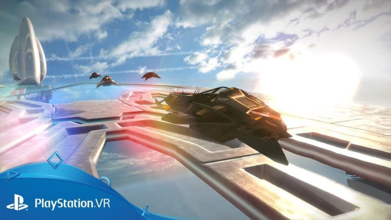 The WipEout Omega Collection VR update is free and available now