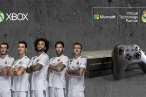 Microsoft will give one lucky fan a very special signed Real Madrid Xbox One