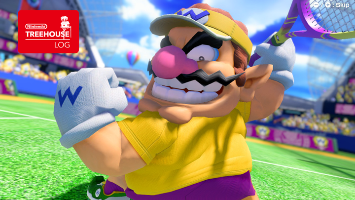 Check out screenshots of all the options in the Mario Tennis Aces Demo