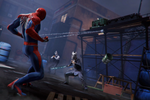 New Spider-man Screenshots and concept art show Norman Osborne, Kingpin, Shocker and more