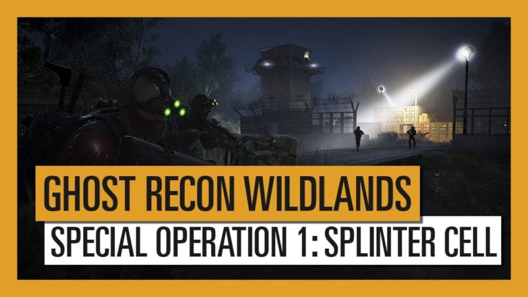 Splinter Cell comes to Ghost Recon Wildlands in Special Operation 1