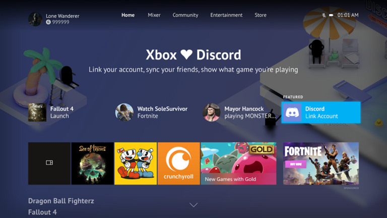 Microsoft and Discord collaborate to bring the chat platform to Xbox One