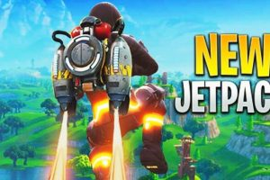 Fortnite Jetpack to launch at the end of this month