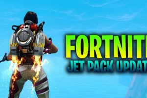 The Jetpack arrives in Fortnite at 10pm tonight