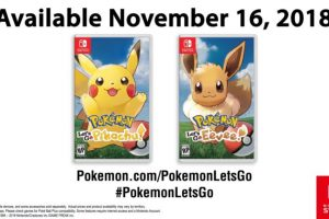 Pokemon Switch – First Details and Images