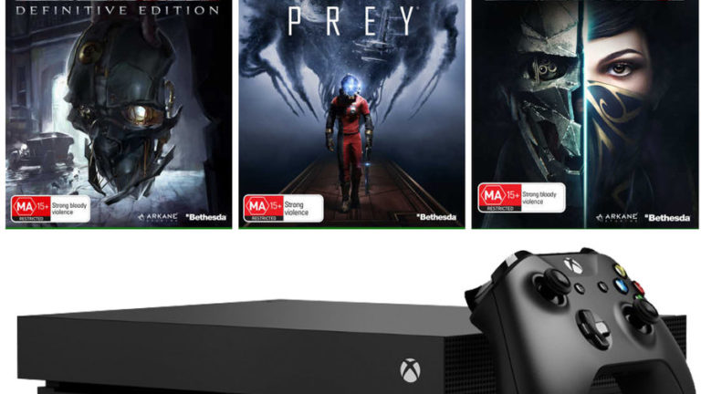 Big W is selling a 1TB Xbox One X, Dishonored Definitive Edition, Dishonored 2 and Prey for $649 AUD