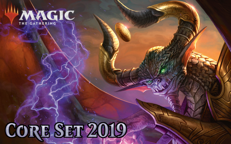 Magic the Gathering Core Set 2019 release is this weekend