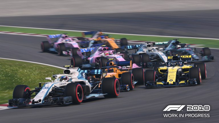F1 2018's second gameplay trailer is making headlines