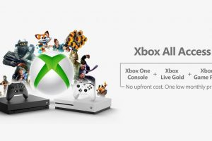 Xbox All Access gets you an Xbox One, Game Pass and Live bundle on contract