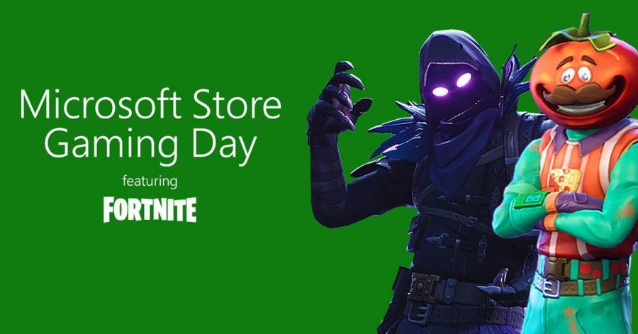 The Microsoft Store in Sydney is hosting a Fortnite Gaming Day this weekend
