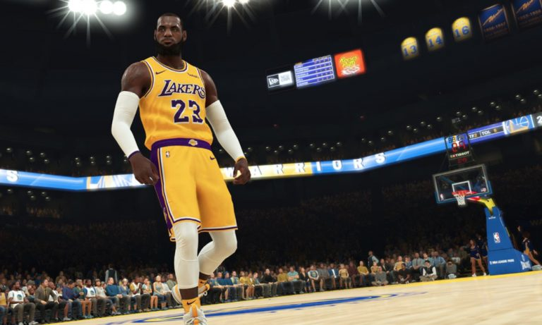 The sound effects in NBA 2K19 are different based on which