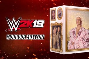WWE 2K19 Wooooo! Edition celebrating Ric Flair exclusive to EB Games in Australia