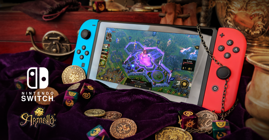 Armello Review Switch – Anthropomorphic Heroes