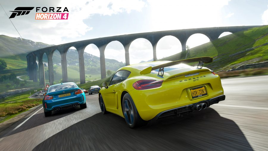 Forza Horizon 4 was made using a kind of magic