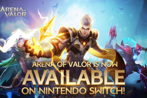 Arena of Valor not (yet) available for Switch on the ANZ eShop