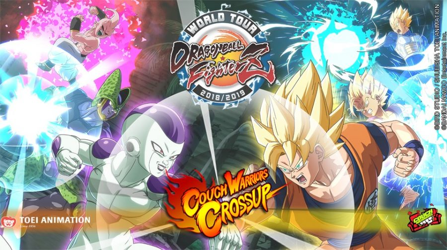 Dragon Ball FighterZ World Tour Saga Event taking place at CouchWarriors Crossup in December