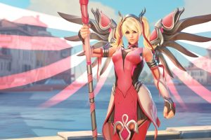 Overwatch Pink Mercy, Changing the World, One Skin at a time