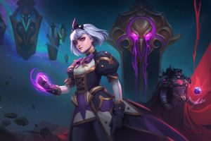 Orphea, Heir of Raven Court is live in Heroes of the Storm