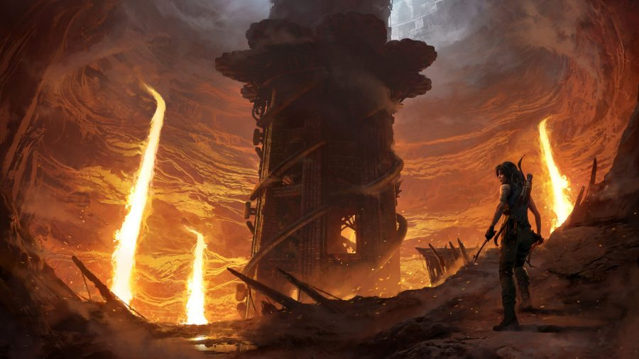 Gameplay footage from Shadow of the Tomb Raider The Forge revealed