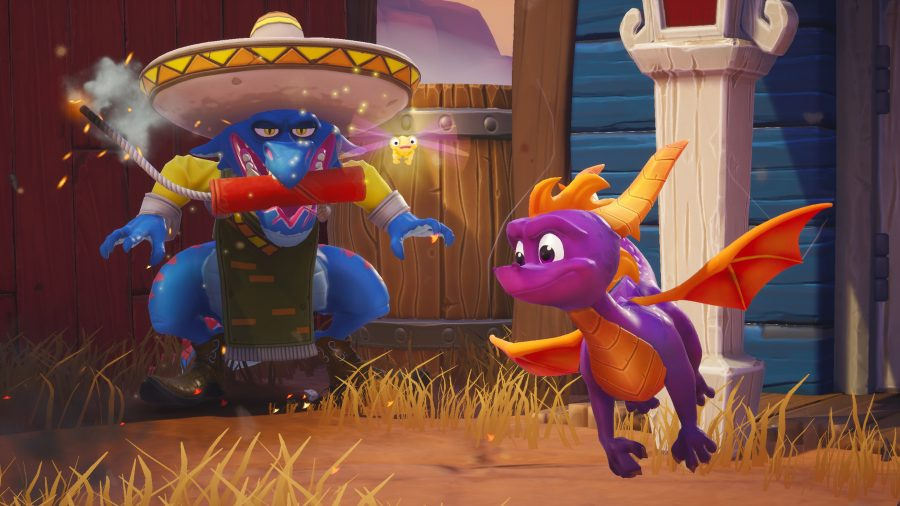 Spyro Reignited Trilogy download size on PS4 is huge