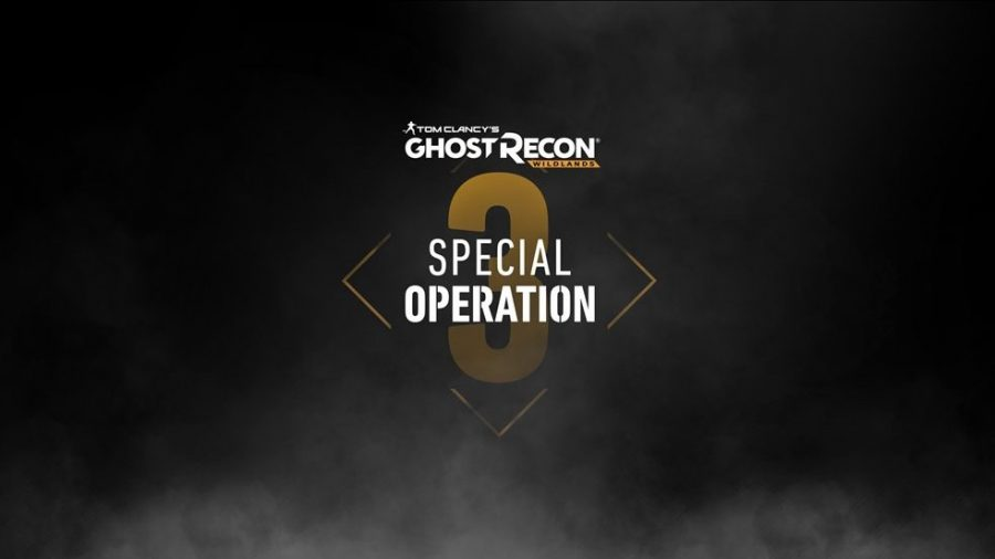 Ghost Recon Wildlands Special Operation 3 is coming next week