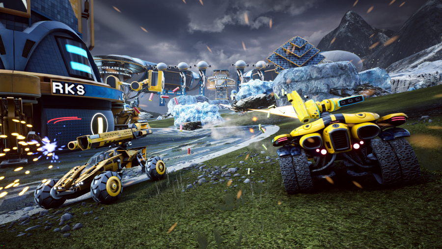 Switchblade MOBA comes free-to-play to PC and PS4 this month