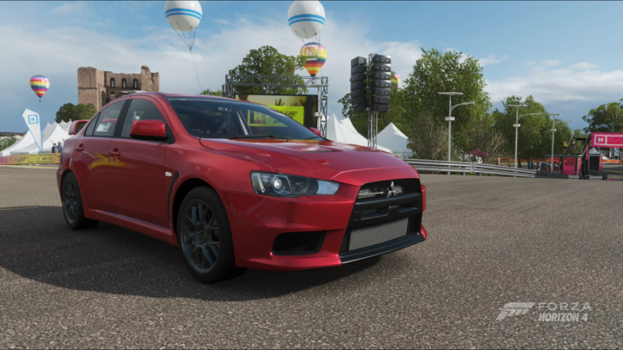 Mitsubishi returns to Forza, but two emotes disappear