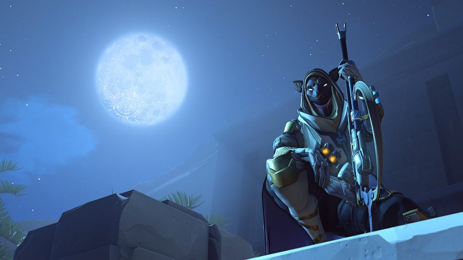 Get free Loot with the Ana Bastet Challenge in Overwatch
