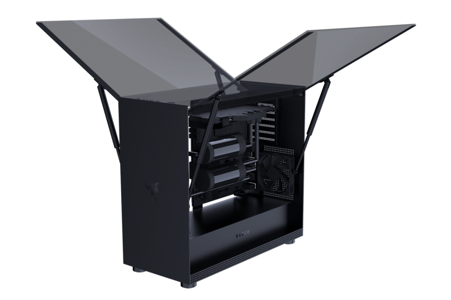 New Razer Tomahawk PC Gaming Chassis with Chroma lighting – CES 2019