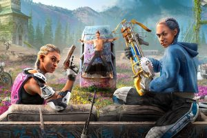 The Far Cry New Dawn story envisions a colourful post-apocalypse and sees you allying with Joseph Seed