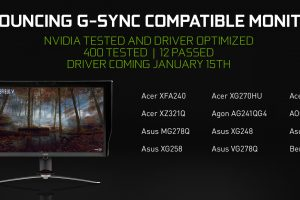 NVIDIA Game Ready Driver brings G-Sync to Compatible FreeSync Monitors