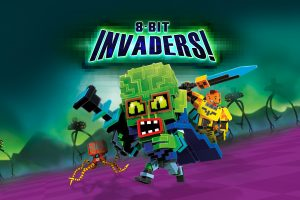 8-Bit Invaders! is Petroglyph's next console RTS port, coming in February