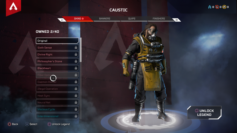 Apex Legends' Cosmetics include Character and Weapon Skins, Voice Lines and More