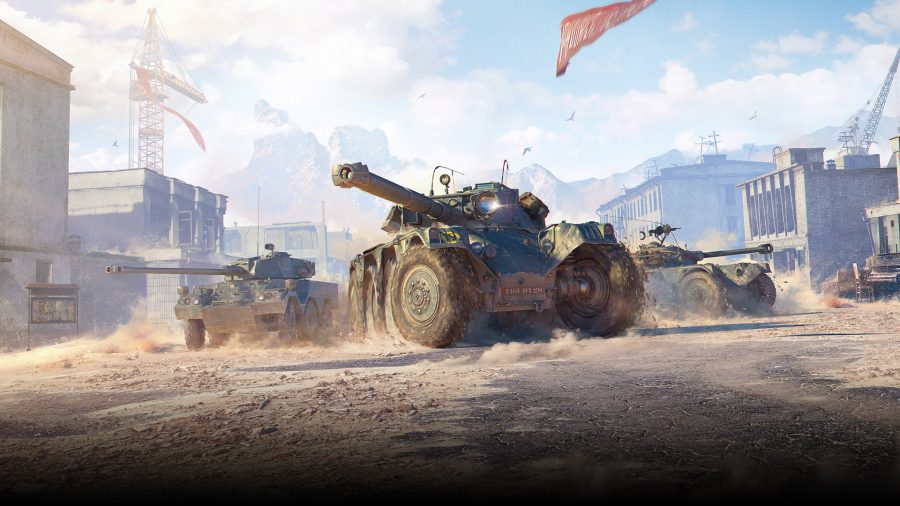 World of Tanks adds wheeled vehicles to the mix