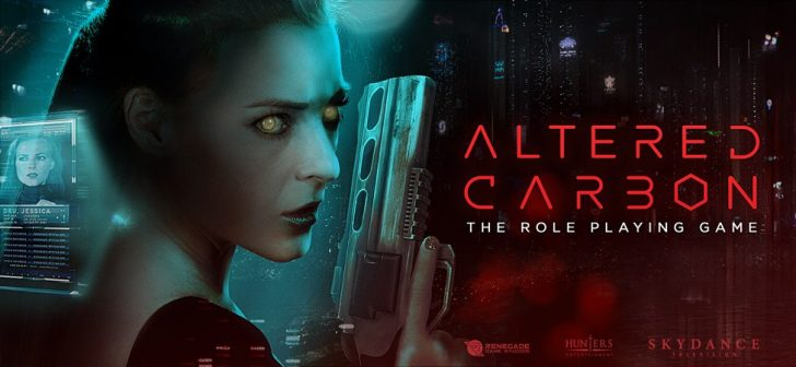 Altered Carbon Tabletop RPG in the works