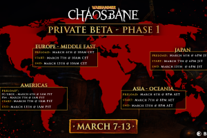 Warhammher Chaosbane Beta is on Now