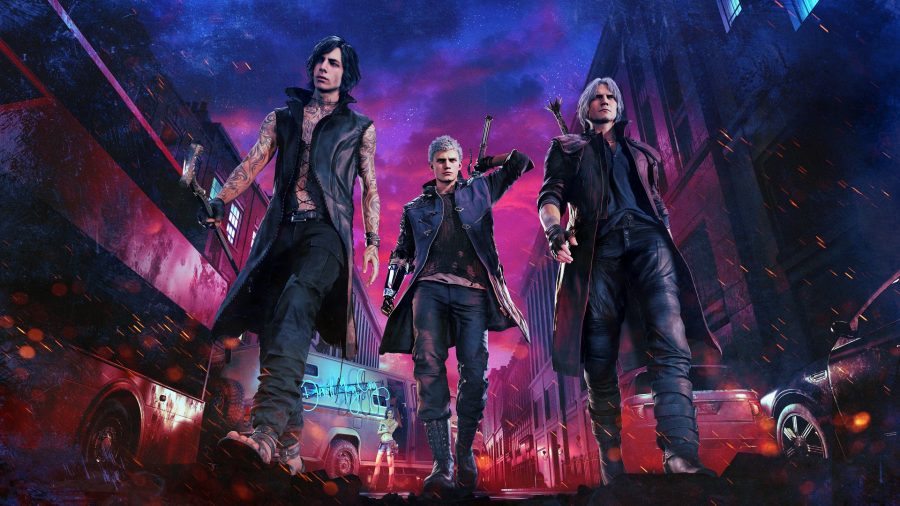 Devil May Cry 5 Preview – Shopping at Hot Topic