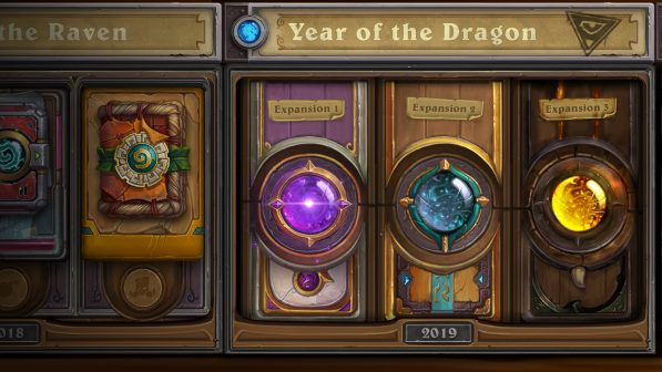 Here comes Hearthstone Year of the Dragon