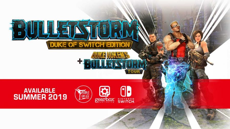 Bulletstorm is coming to Switch in 2019