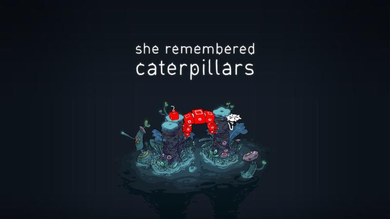 Hand-drawn Puzzle Game She Remembered Caterpillars is coming to Switch