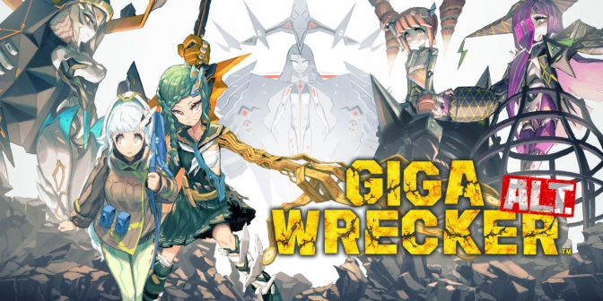 Giga Wrecker Alt is coming to consoles next week, check out some screenshots