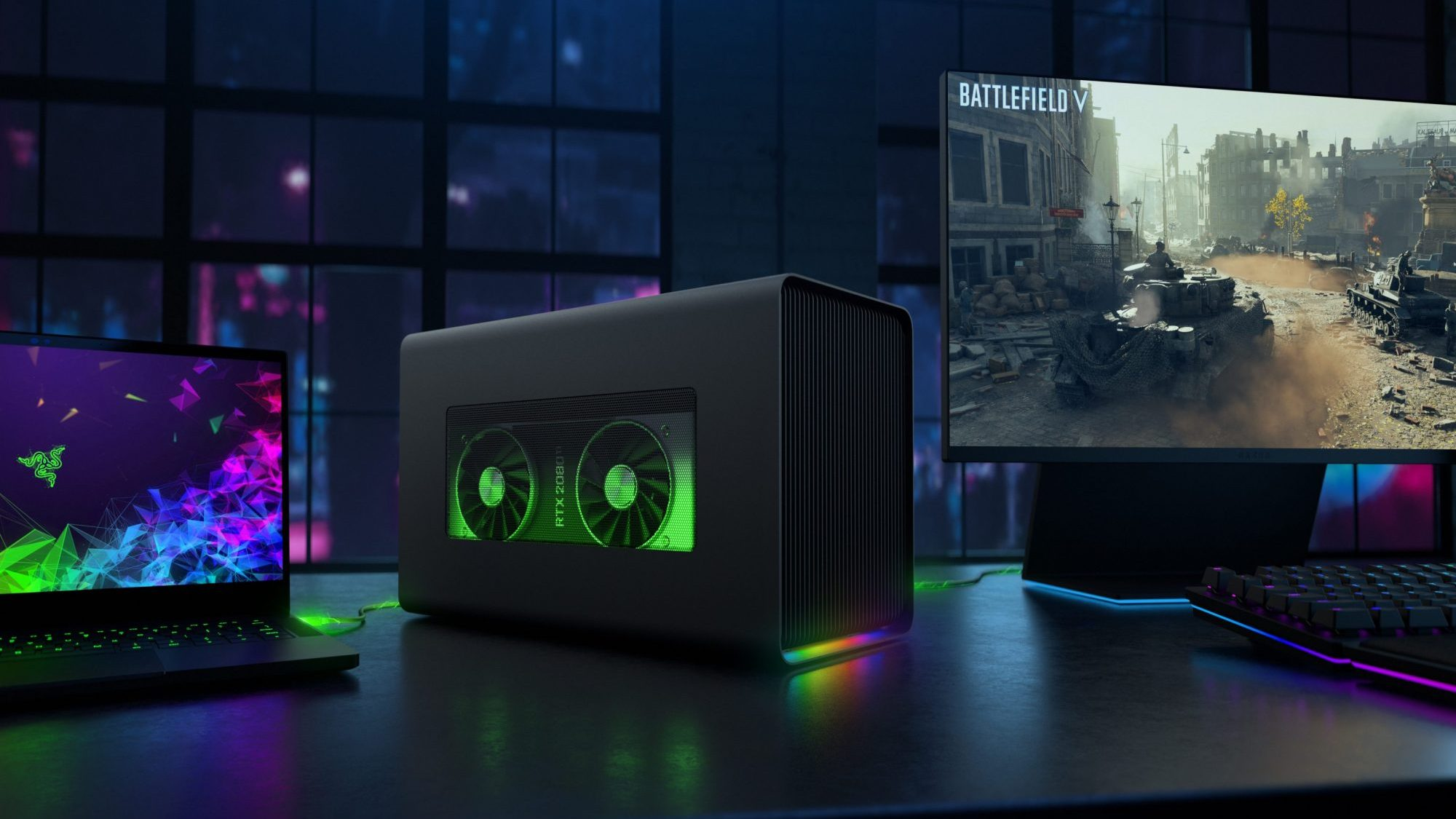 All New Razer Core X Chroma Gives Your Laptop Graphics an Octane