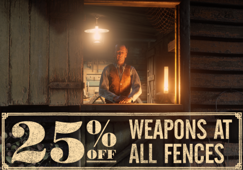 Big in-game discounts on Red Dead Online items this week