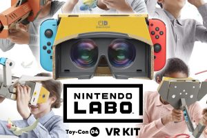 Use VR on your Switch with Nintendo Labo VR Kit