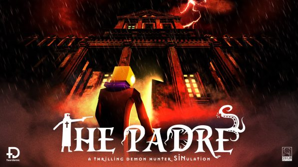 The Padre is a retro stylised 3D survival horror game coming out this month