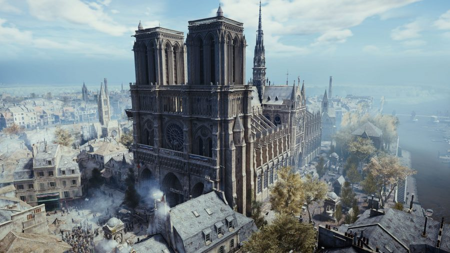 Ubisoft is giving away Assassin's Creed Unity free on PC following the Notre-Dame fire