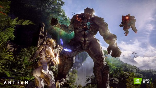 Geforce owners get 40% performance boost in Anthem thanks to NVIDIA DLSS