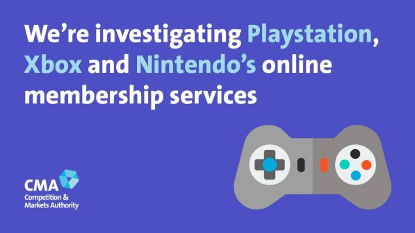 The UK's Competition and Markets Authority has launched an investigation into console auto renewals