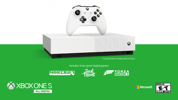 Xbox One S All-Digital Edition is coming in May but not in Australia